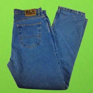 Ralph Lauren relaxed fit size 33 x 32 denim jeans